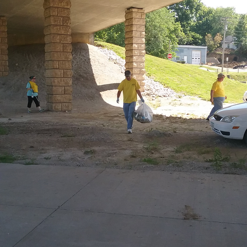 Overpass cleanup