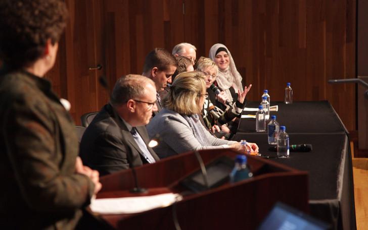 Panel Members Listen