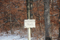 Mormon Trail Marker