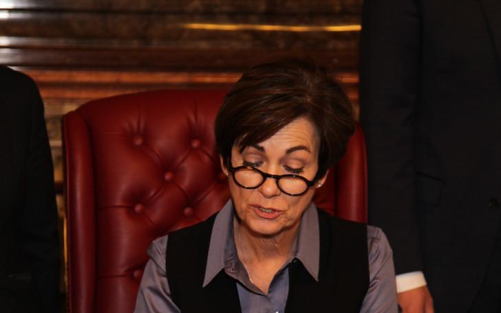 Governor Kim Reynolds reads proclamation