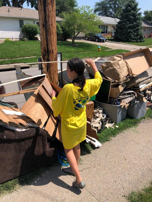 Stacking Debris