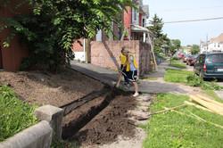 Repairing landscaping
