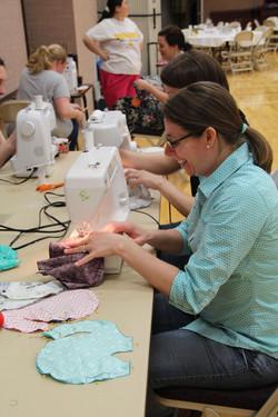 sewing elephants