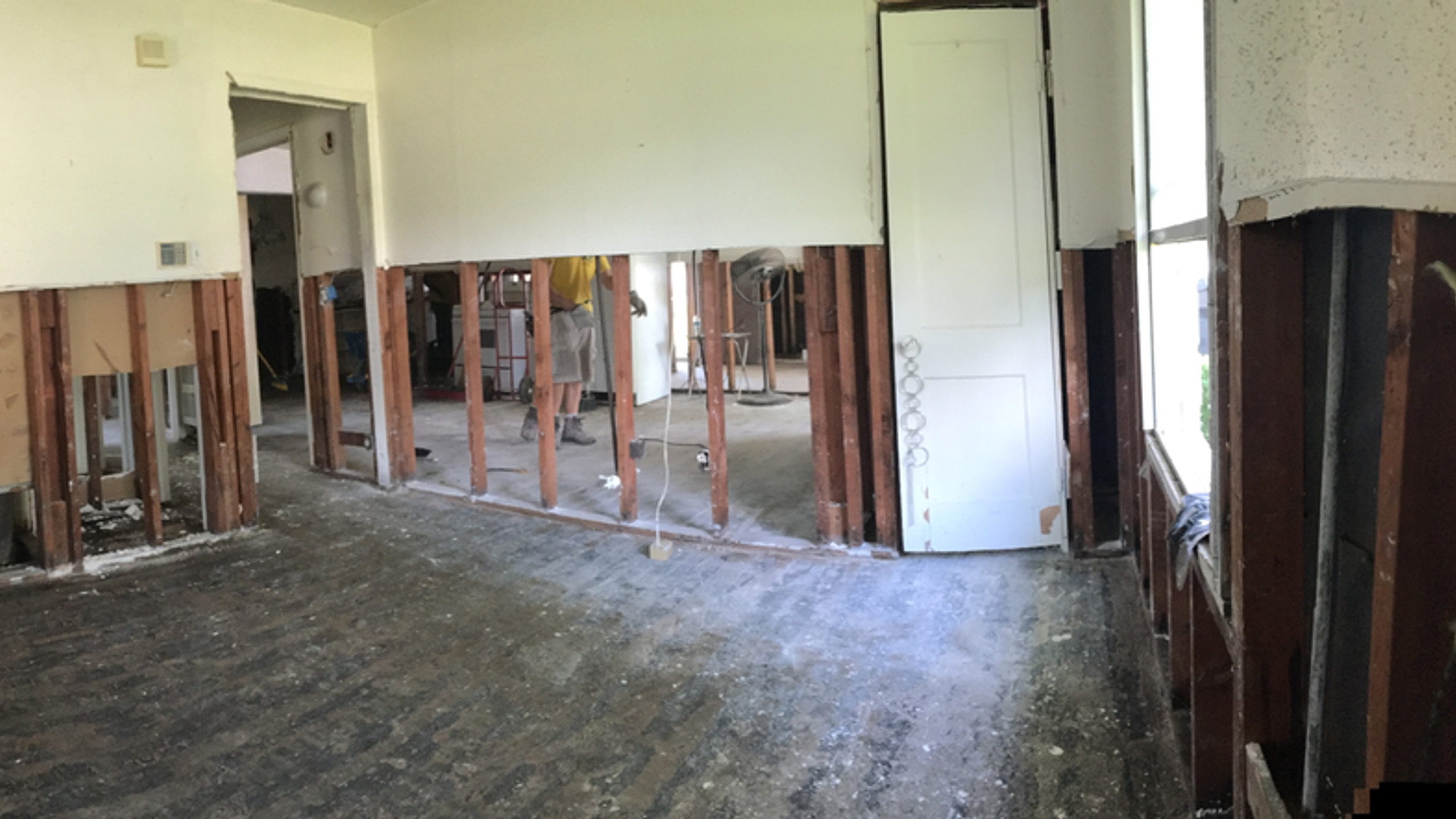 Stripping Dry Wall