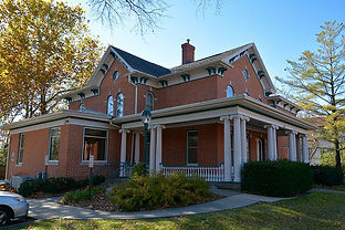 A. W. Pratt House. Built in 1885. Placed on National Register in 1983. Currently serves LDS college-aged students in Iowa City.