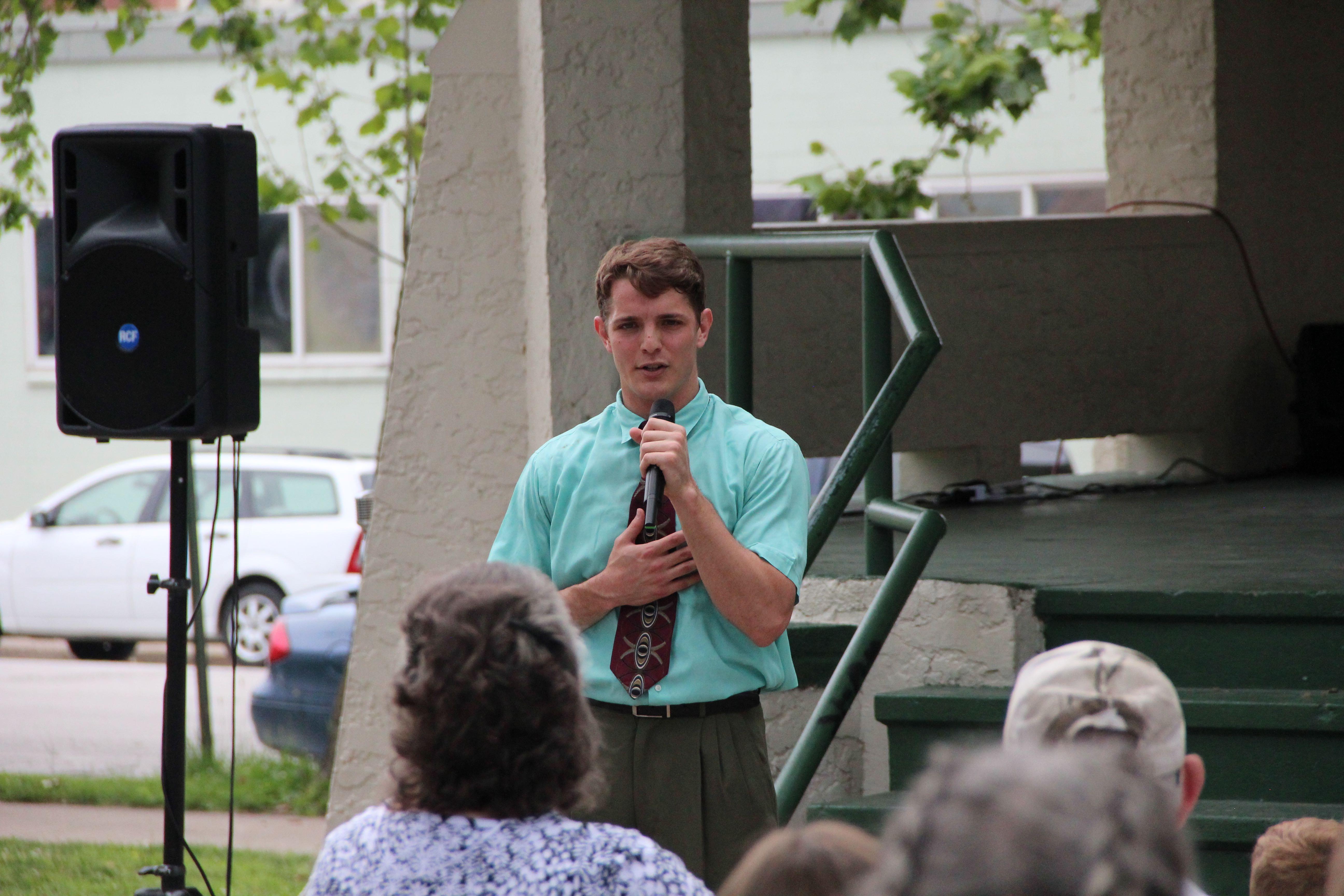 BYU performer in Hannibal, MO