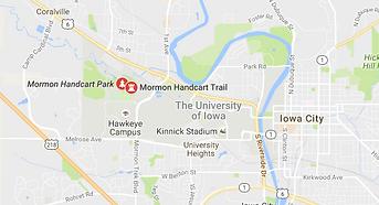 Mormon Handcart Park map