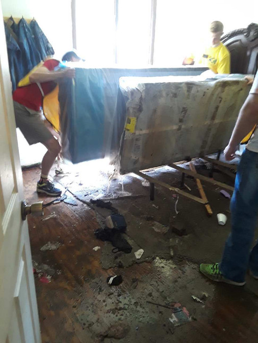 Clearing a Basement