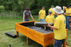 Eagle Project in Cedar Falls