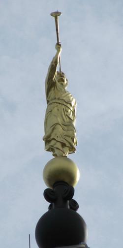 Moroni Statue in Nauvoo