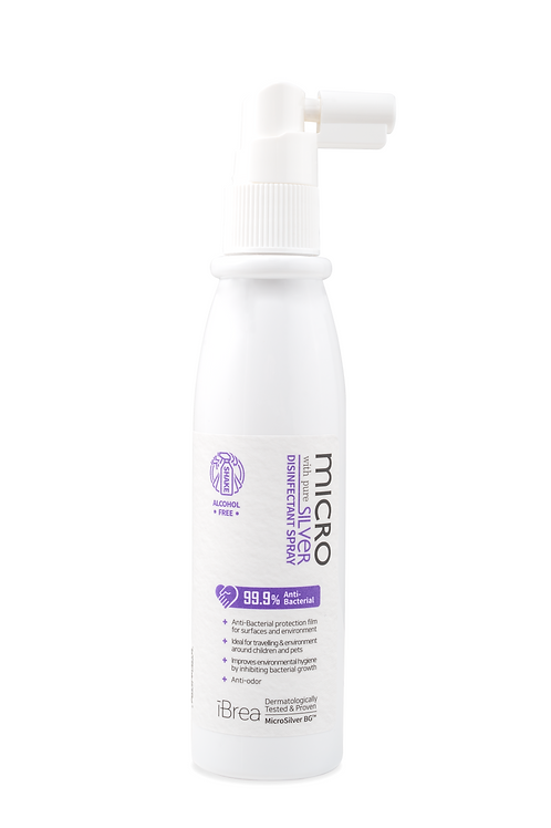 MicroSilver Disinfectant Spray with Pure Silver (98ml)