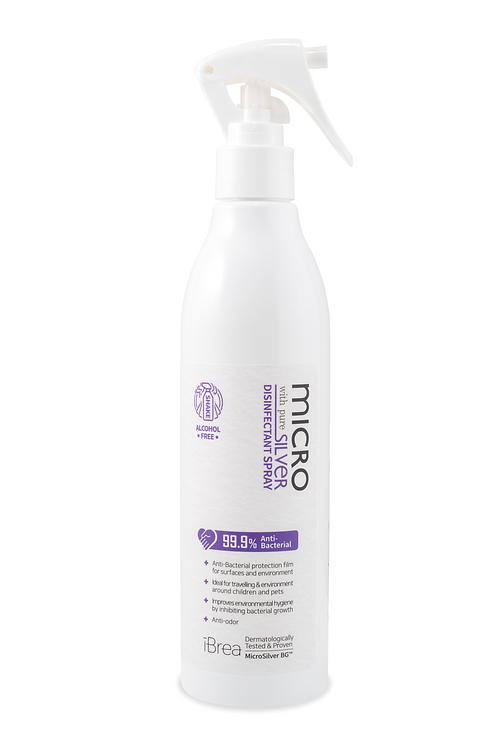 MicroSilver Disinfectant Spray with Pure Silver (300ml)