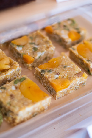 Apricot Ginger Energy Squares
