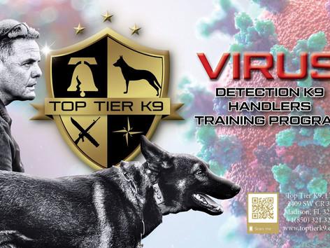 COVID-19 Detection Dog Handler Program