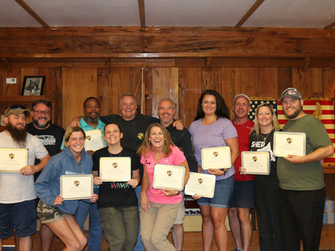 Newly Certified Pet Trainers