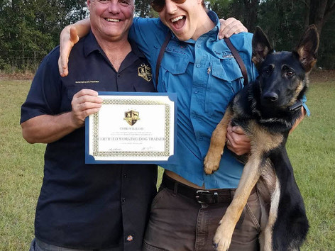 Certified Working Dog Trainers