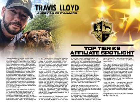 Top Tier K9 Affiliate Spotlight