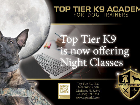 Next Pet Trainer Class is 30 March 2021