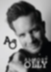Karl Lewis - Almost Olly Promo pic BW-01