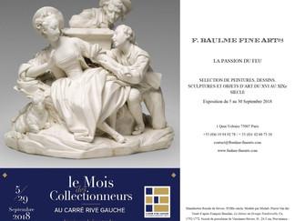 LE MOIS DES COLLECTIONNEURS A LA GALERIE F. BAULME FINE ARTS
