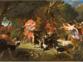 PRESSE // Société des amis du Louvre - Méléagre tue le sanglier de Calydon, Musée Fabre