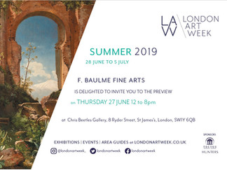 LONDON ART WEEK 2019