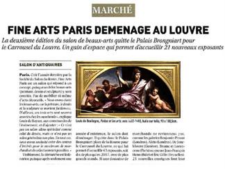 PRESSE // F. BAULME FINE ARTS A FINE ARTS PARIS