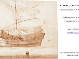 """EXPOSITION """"Œuvres sur papier du XVIe au XIXe siècle"""""""