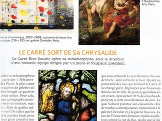 PRESSSE // Connaissance des arts : Carré Rive Gauche