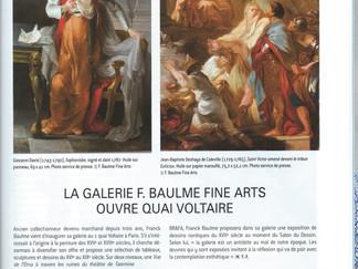 PRESSE // L'Estampille-L'Objet d'Art - La galerie F.Baulme Fine Arts ouvre quai Voltaire
