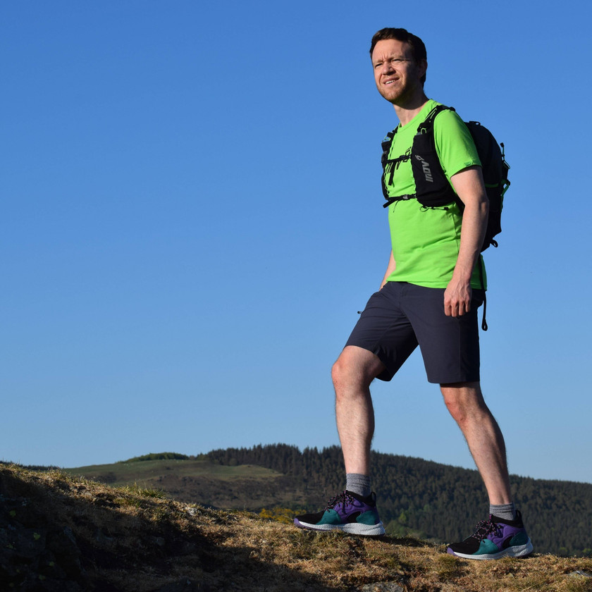 James Forrest testing the Columbia Men's SH/FT OutDry Mid Shoe