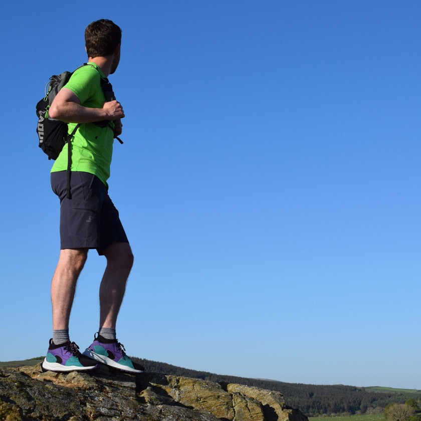 James Forrest testing the Columbia Men's SH/FT OutDry Mid Shoe in the Lake District