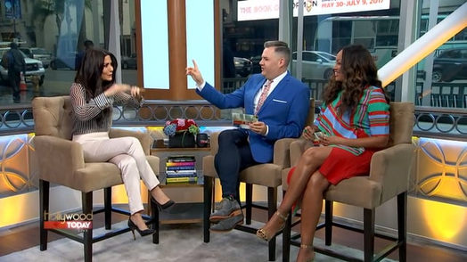 Marisol Nichols on Hollywood Today Live Show