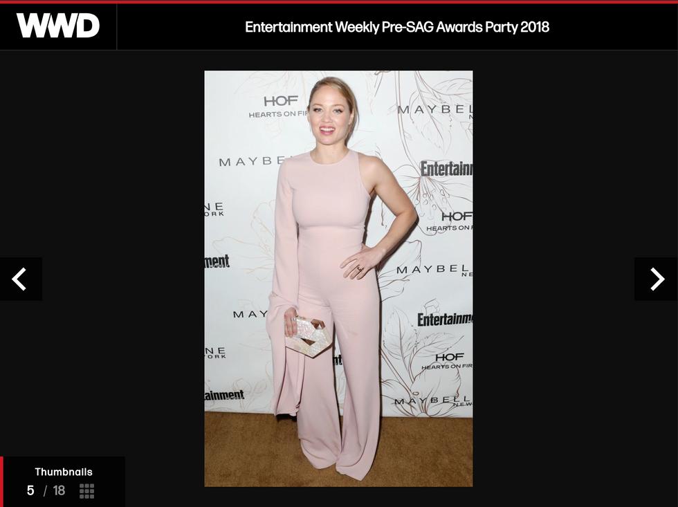Erika Christensen Pre SAG Awards Party 2018