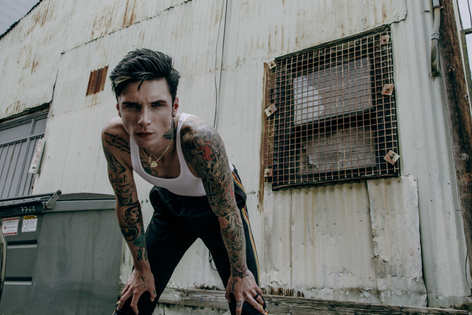 Andy Black for Lucy's Magazine