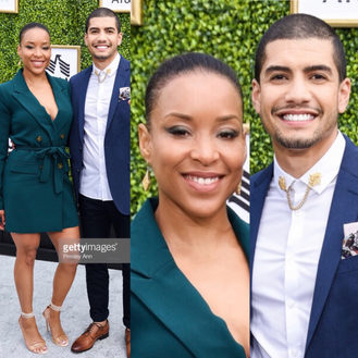 Rick Gonzalez & Sherry Ion at CW Launch Party