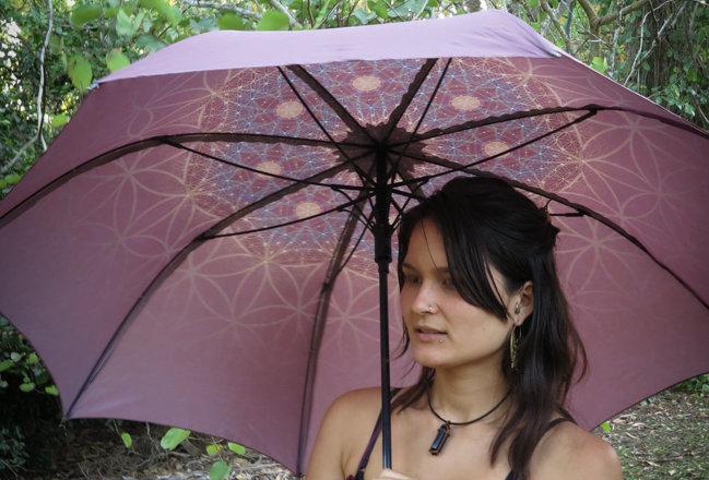 Bloom Flower of Life Umbrella