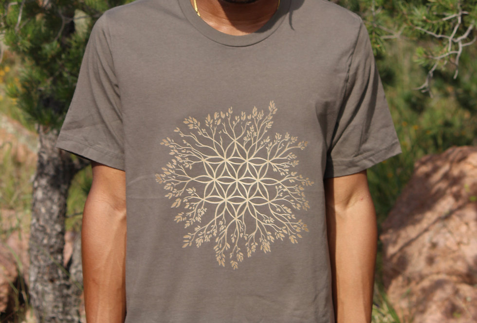Men's Cotton Tshirt - Connection