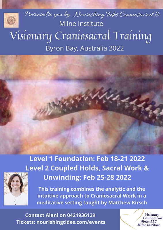 Visionary Craniosacral Training Poster (