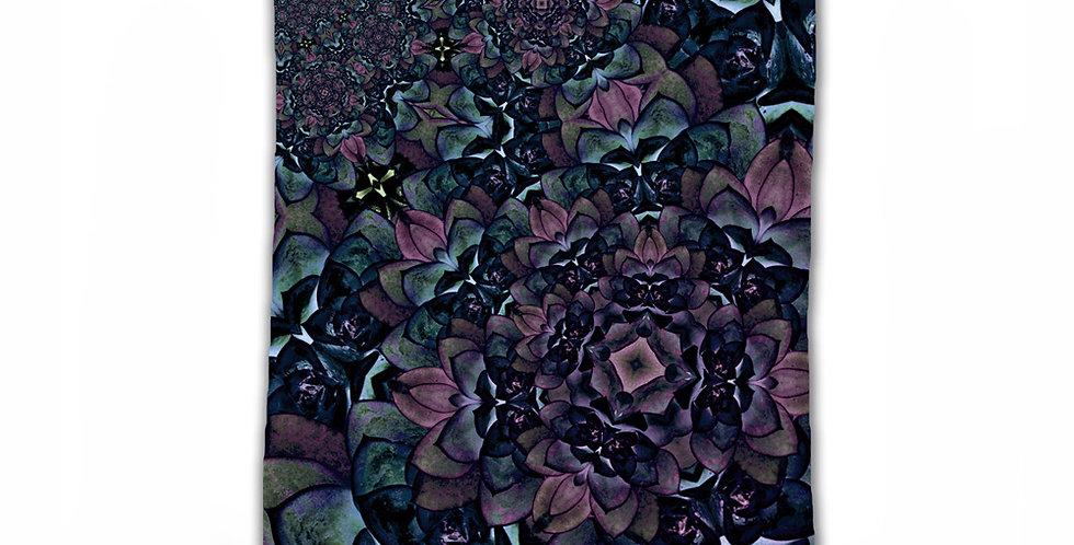 Fractal Petals Fabric Wall hanging Tapestry