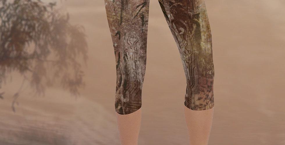 Fig Dreams Capri Yoga Leggings