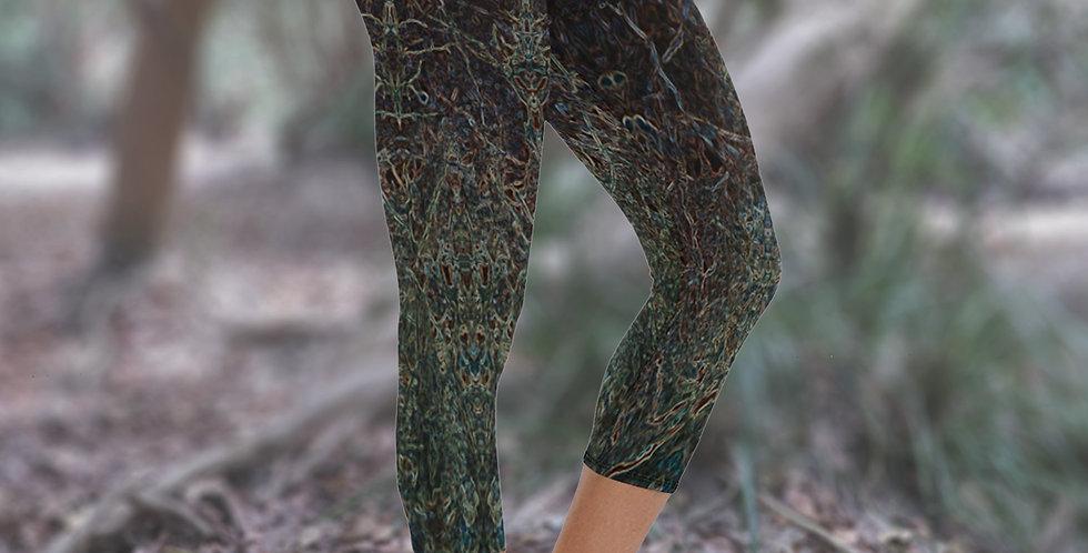 SPRITES Capri Yoga Leggings