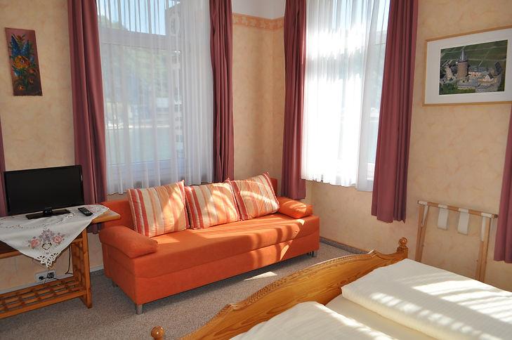 Doppelzimmer mit Rheinblick