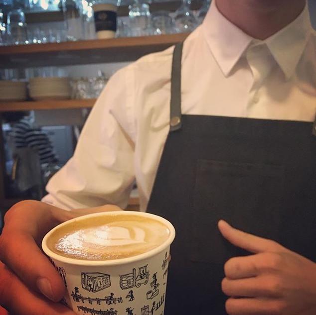 Cappuccino-man