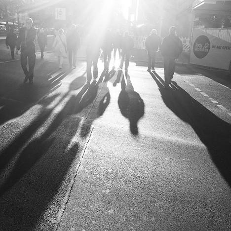 Walk into the light #berlin #lightphotog