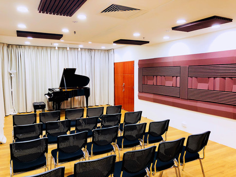 Recital hall with Steinway & Sons