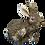 Brown Bunny/Rabbit Figurine