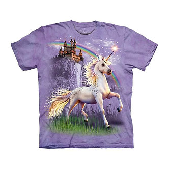 """Unicorn Castle"" Youth T-Shirt by The Mountain"