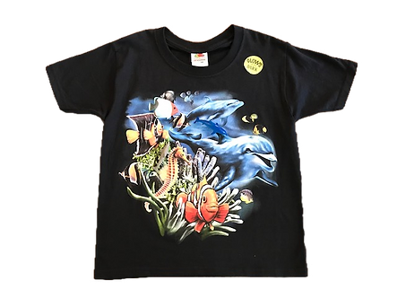 Dolphin Snap-On T-Shirt by WildThings