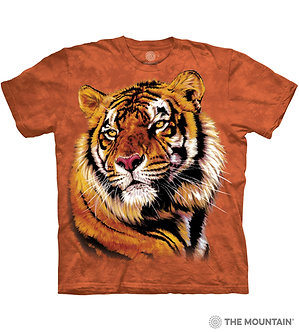 """""""Power and Grace"""" Tiger Adult T-Shirt by The Mountain"""